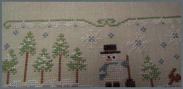 Winter Wonderland - broderie finie...