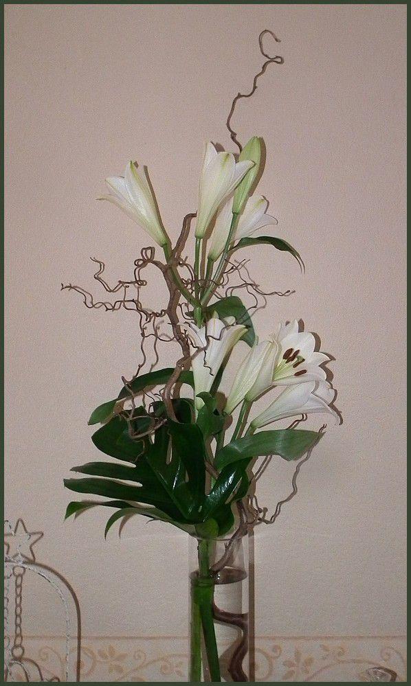 Margaux et ses fleurs, bouquet d'avril
