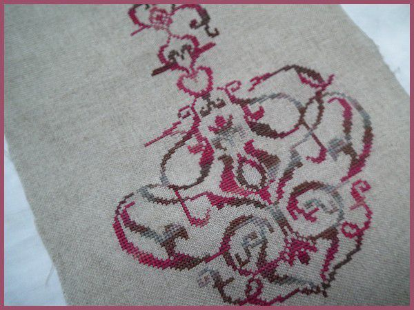 Bouquet Baroque - Petit point Compté - 3