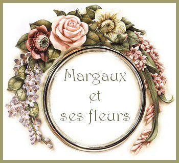 Margaux et ses fleurs... bouquet vaporeux