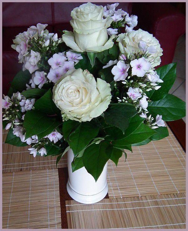 Margaux et ses fleurs... en juin