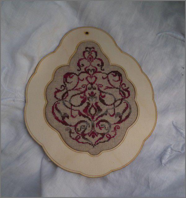 Bouquet Baroque - Petit point Compté - finition