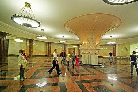 Couleurs Moscou - 3 : métros et palais
