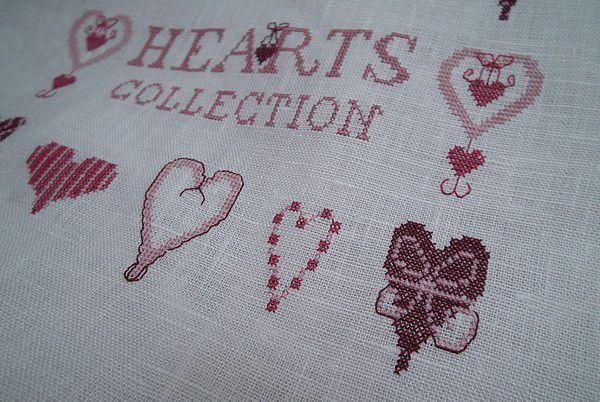 Hearts collection - c'est brodé !