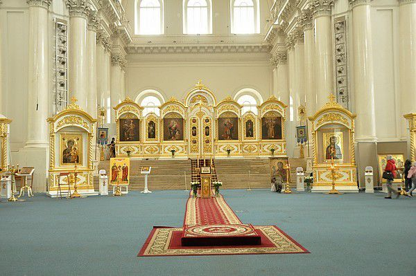 St Petersbourg - 2... les églises....