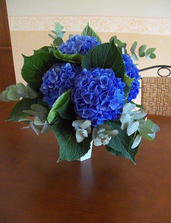 Margaux Et Ses Fleurs Boule Bleue Le Blog De Vava