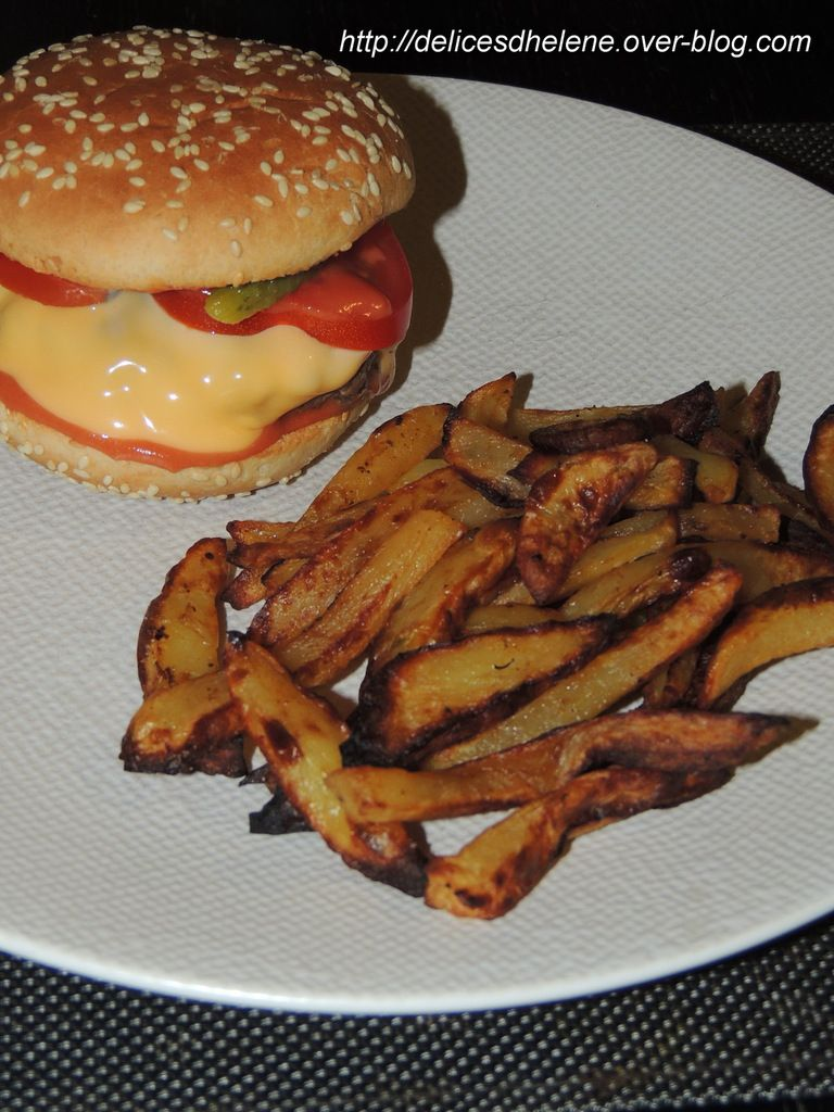 HAMBURGER-FRITES WW