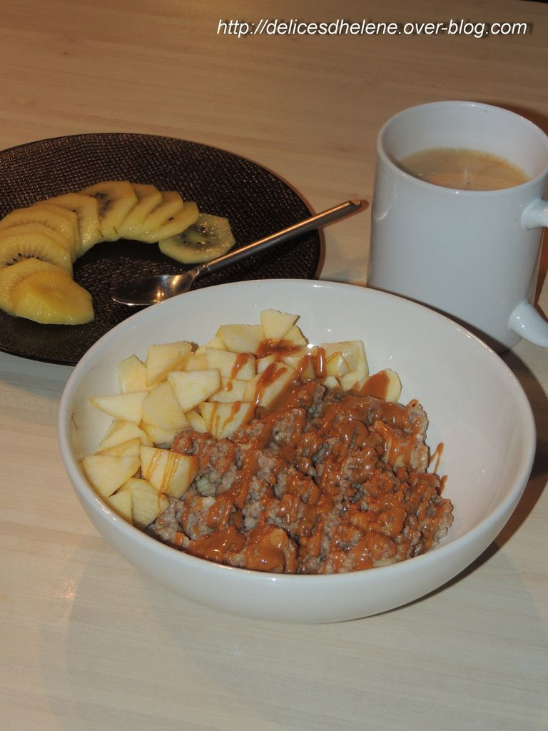 PORRIDGE POMME-CANNELLE-SPECULOOS (WW)