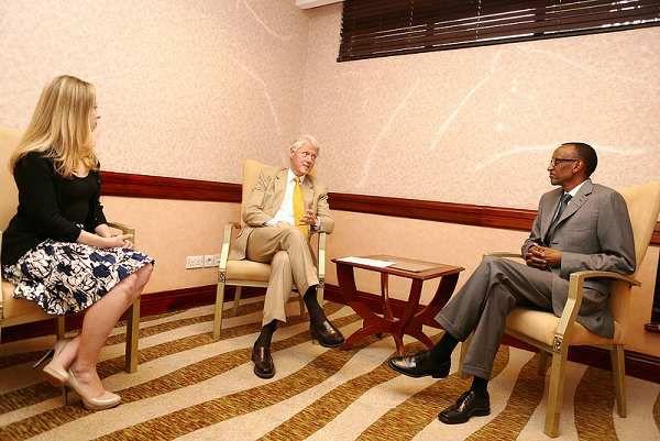 Clinton na Kagame bari bahuje umugambi wo kudatabara abatutsi mu 1994