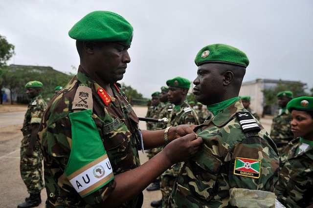 Guhangana n'amahanga bitumye ingabo z'u Burundi zitaha igitaraganya
