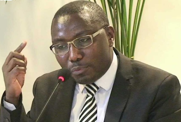 Thomas Nahimana umuyobozi w'ishyaka Ishema ry'u Rwanda
