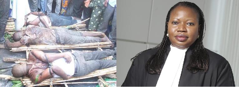 Amaso ya Procureur Besounda abona urupfu rw'abarundi ntabwo ashobora kubona urupfu rw'abanyarwanda!