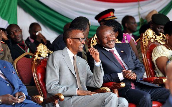 Burya Kagame yasekeraga Nkurunziza naho mu mutima rusibana!