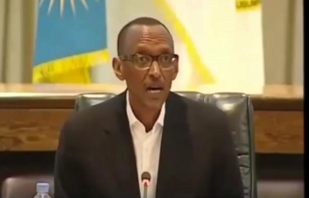 Petero yihakanye Yezu incuro 3, Kagame Paul we yihakanye ubwe incuro 5 umwaka w'2017 utaragera ! Ese ubwo ni umugabo ?