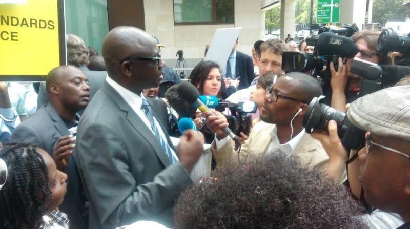 Uyu ministre Busingye uri kuvugana n'abanyamakuru ngo ntazi ko hari abakene bafungirwa ubusa!