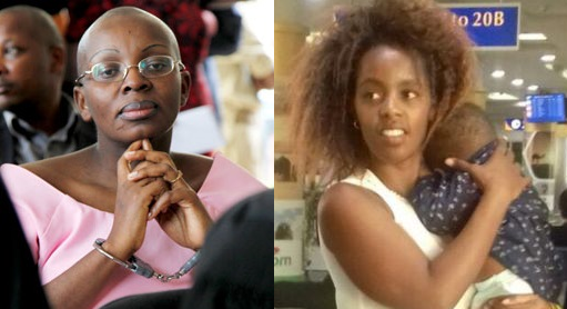 Les deux  courageuses, opposantes au régime dictatorial de Kagame.