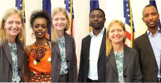 Ambasaderi w'Amerika i Kigali n'abakandida bigenga