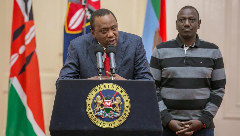 Le président Kenyatta s'est adressé à la nation, vendredi 1er septembre, après l'annonce de l'annulation du scrutin du 8 août. Déclaré vainqueur le 11 août dernier, les chancelleries n'avaient pas tardé à le féliciter pour sa réélection