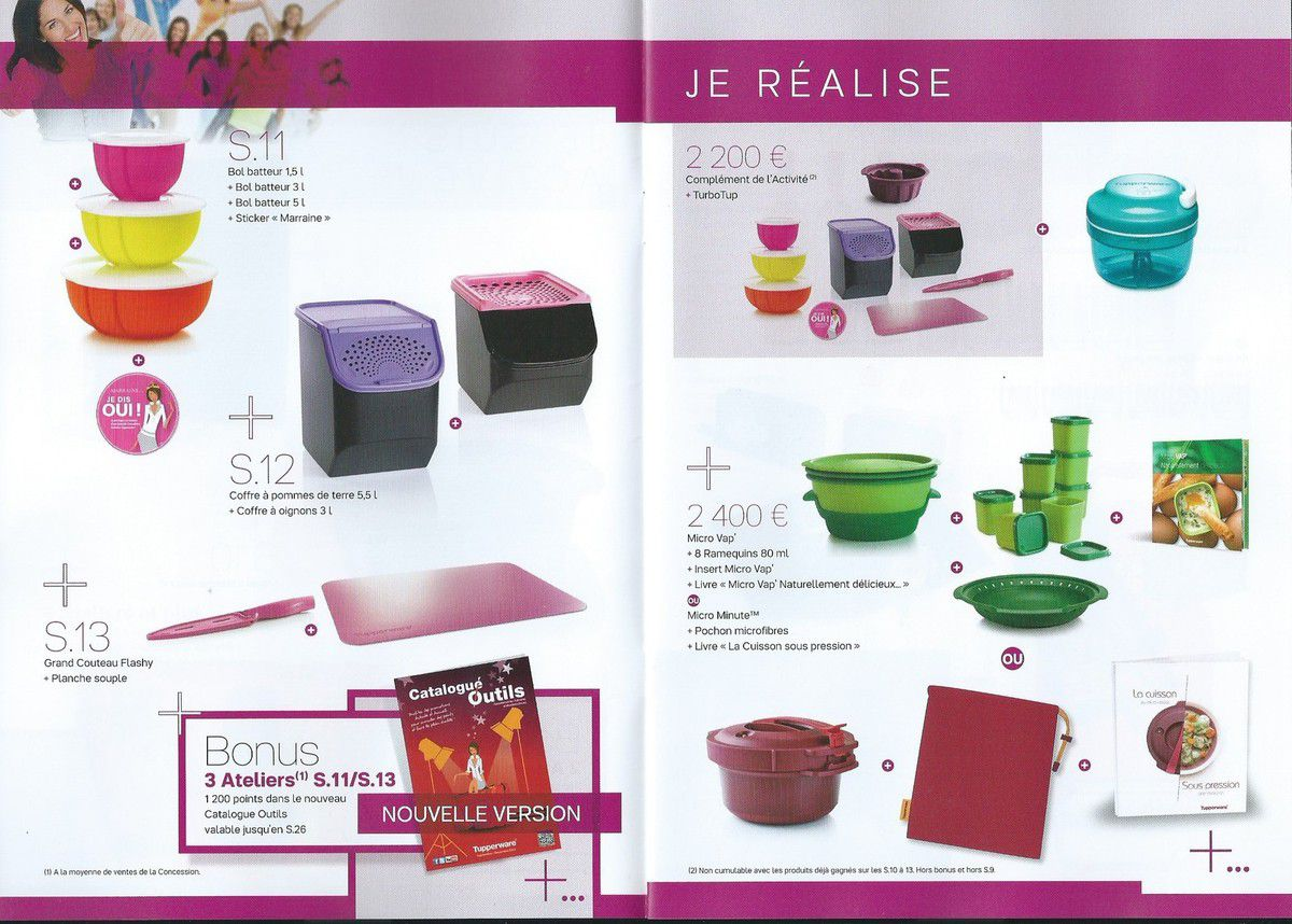 cadeaux activit mars 2015 c line tupperware. Black Bedroom Furniture Sets. Home Design Ideas