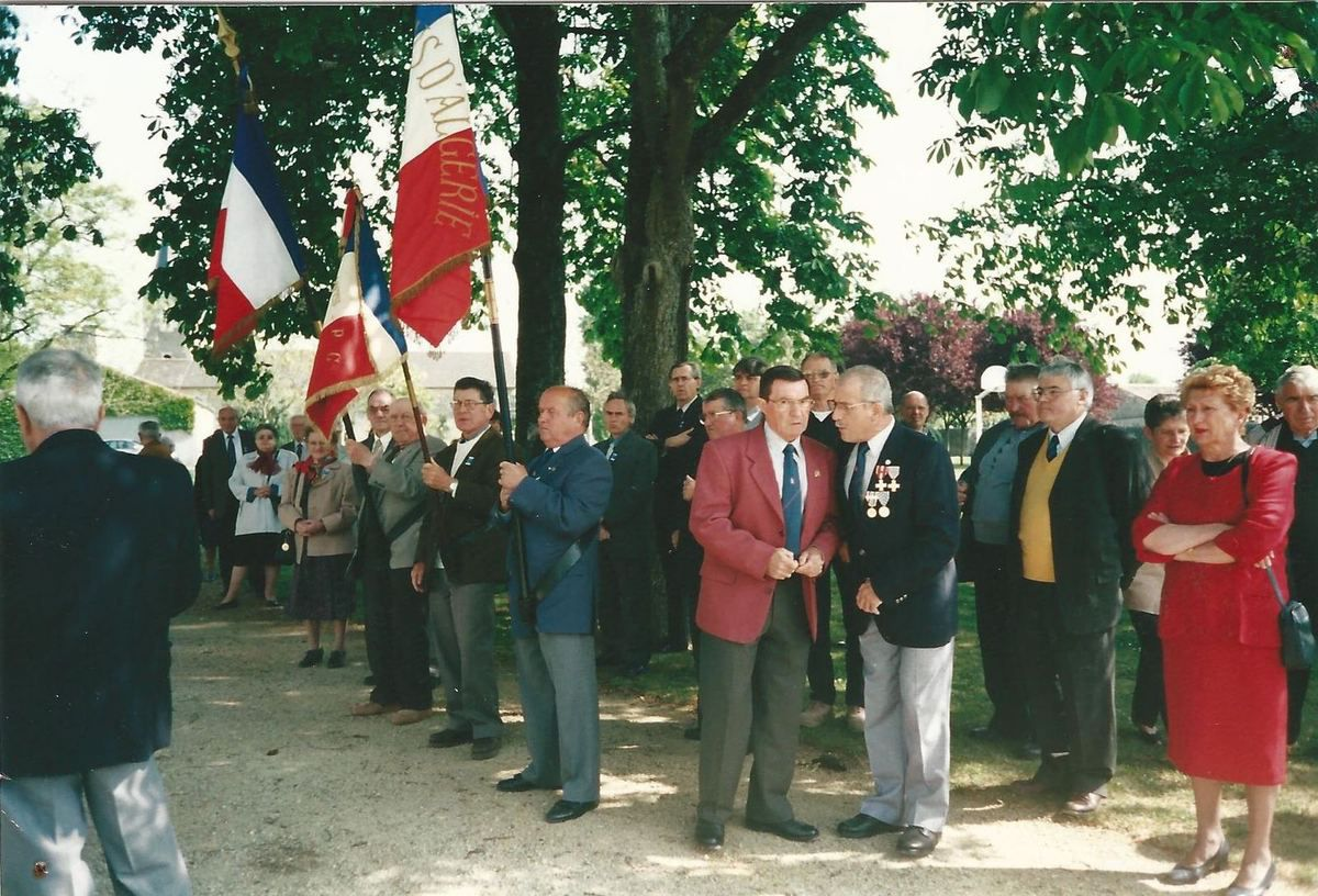 Journée du souvenir à Lavoux, photo de J.M. Groussin