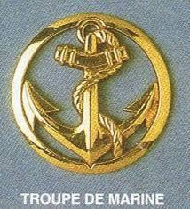 Insigne des Troupes de marine.