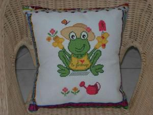 La photo du coussin Mis Grenouille