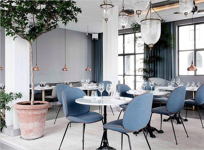 A Danish Scandinavian style Restaurant Cotton Casa