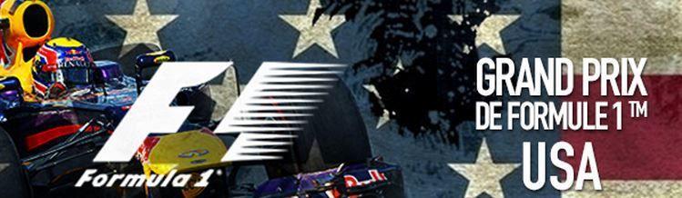 [Du 31 Oct au 02 Nov] Formule 1 : Grand Prix des USA à suivre en direct sur les antennes du groupe CANAL+ !