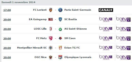 [Sam 1er Nov] Ligue 1 (J12) : MultiFoot (20h00) en direct sur beIN SPORTS 1 !