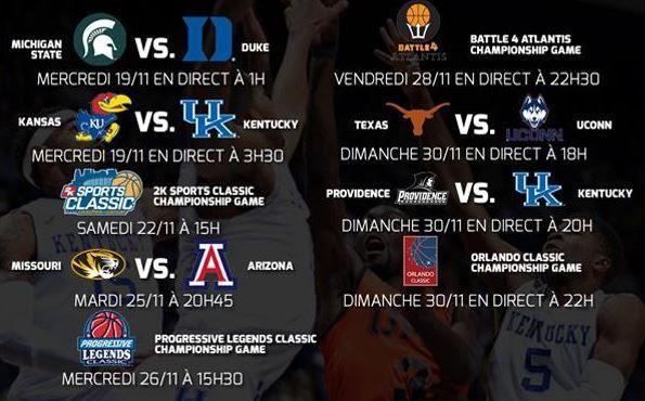 [Infos TV] Le championnat NCAA de Basket revient sur Ma Chaîne Sport, découvrez les rencontres à venir !
