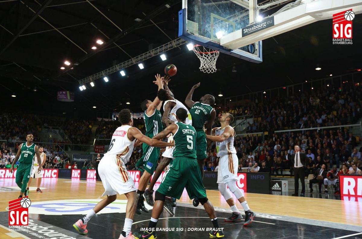 [Mar 11 Nov] Basket (Eurocoupe, Match de Poule) Paris-Levallois / Strasbourg (à suivre en direct à 20h30) sur l'Equipe 21 !