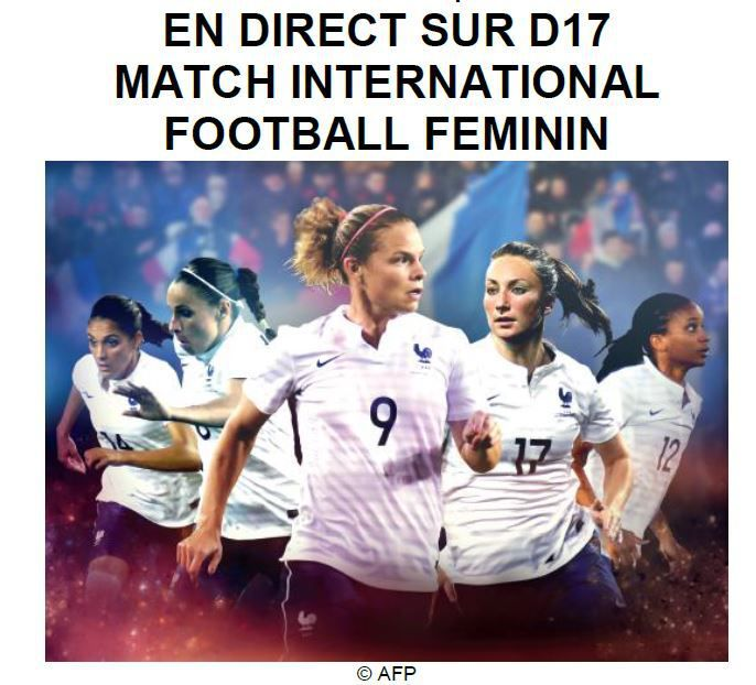 [Sam 22 Nov] Foot Féminin (Match Amical) France / Nouvelle Zélande (direct à 18h30) sur D17 !