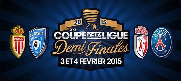 [Infos TV] Football - Le Programme TV des 1/2 Finale de la Coupe de la Ligue !