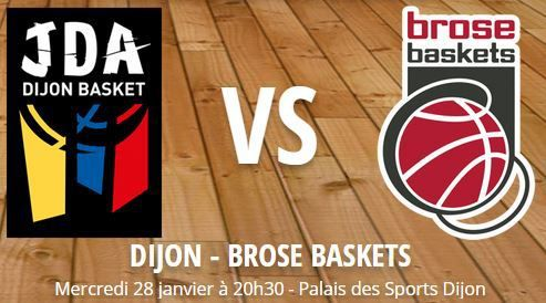[Mer 28 Jan] Basket (Eurocoupe, Last 32) Dijon / Bamberg, à suivre en direct à 20h30 sur l'Equipe 21 !