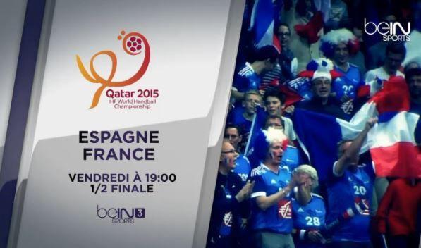 [Infos TV] Hand - Dispositif exceptionnel sur BeIN SPORTS pour suivre les phases finales du championnat du monde de Handball !