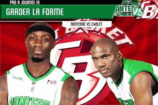 [Mar 03 Fév] Basket (19ème Journée de Pro A) Nanterre / Cholet, à suivre en direct à 20h50 sur Canal Plus Sport !
