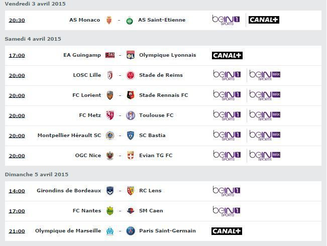 programme tv hier canal plus