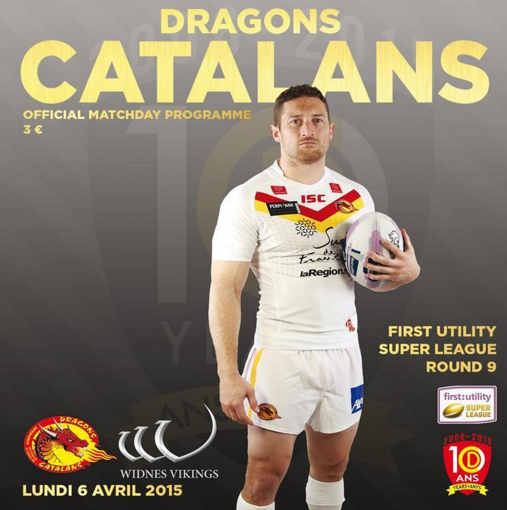 [Lun 06 Avr] Rugby XIII (Superleague, 9ème Journée) Dragons Catalans / Widnes Vikings, à suivre en direct à 18h00 sur BeIN SPORTS 3 !