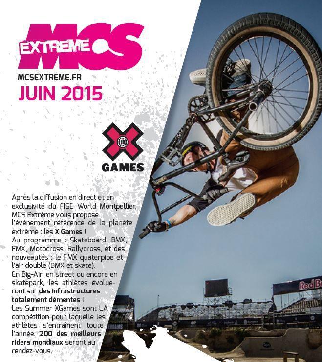 [Info TV] Découvrez les Temps Forts du mois de Juin 2015 à venir sur Ma Chaîne Sport Extrême !