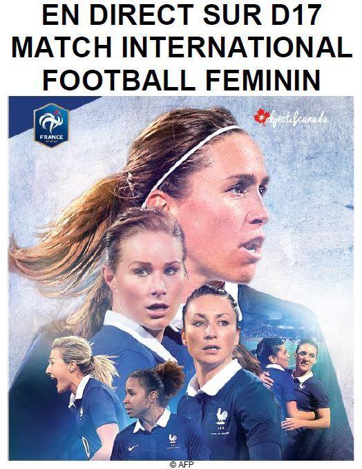[Jeu 28 Mai] Football (Match Amical Féminin) France / Ecosse, à suivre en direct à 20h50 sur D17 !