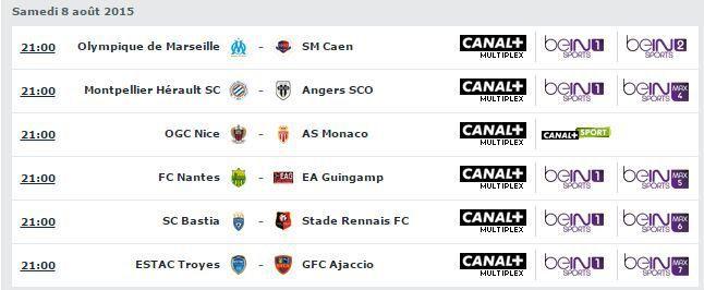 [Sam 08 Août] Ligue 1 (J1) : MultiFoot (21h00) en direct sur CANAL+ et beIN SPORTS 1