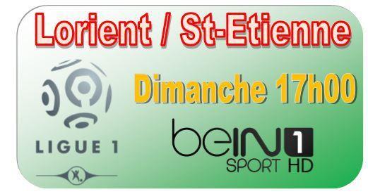 [Dim 23 Août] Ligue 1 (J3) : Lorient / St-Etienne (17h00) en direct sur beIN SPORTS 1 !