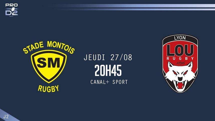 [Jeu 27 Août] Rugby (Pro D2, 2ème Journée) Mont-de-Marsan / Lyon, à suivre en direct à 20h45 sur Canal Plus Sport !