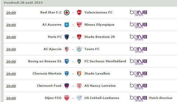 [Ven 28 Août] Ligue 2 (J5) : MultiFoot (20h00) en direct sur beIN SPORTS 2 !