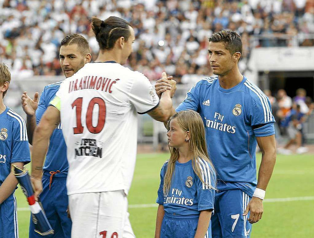 [Mer 21 Oct] Foot (Ligue des Champ) : Paris SG / Real Madrid (20h45) en direct sur CANAL+ !
