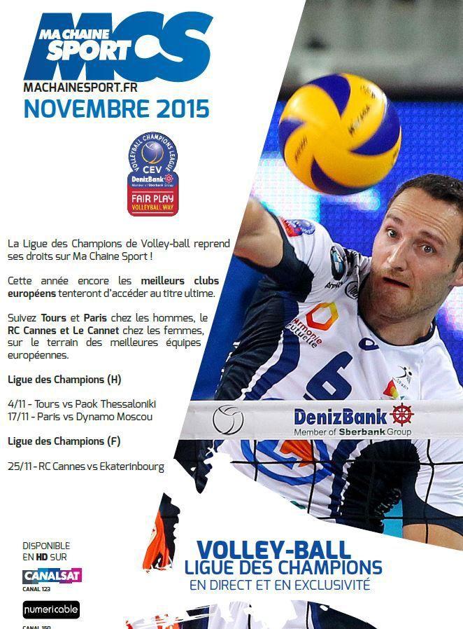 [Info TV] Découvrez les Temps Forts du mois de Novembre 2015 sur Ma Chaîne Sport !