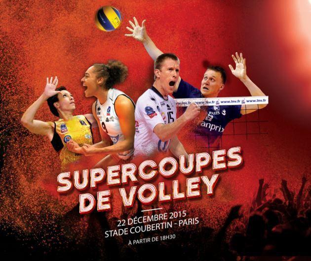 [Mar 22 Déc] Les Supercoupes de Volley à suivre en direct sur l'Equipe 21 !