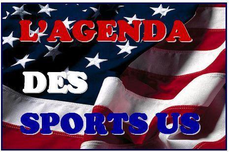 L'Agenda des Sports Américains (Semaine du lundi 21 au dimanche 27 mars 2016 ) !