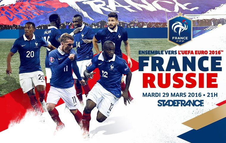 [Mar 29 Mars] Foot Amical : France / Russie (20h50) en direct sur TF1 !