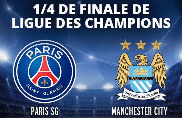 [Mer 06 Avr] Foot Ligue des Champ (1/4.F Aller) : Paris SG / Manchester City (20h45) en direct sur BEIN 1 !